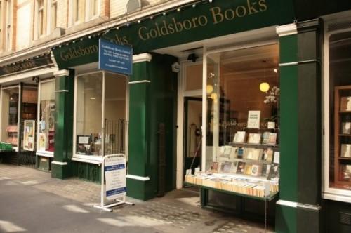런던의 서쪽 끝에 자리한 독특한 서점 Goldsboro Books