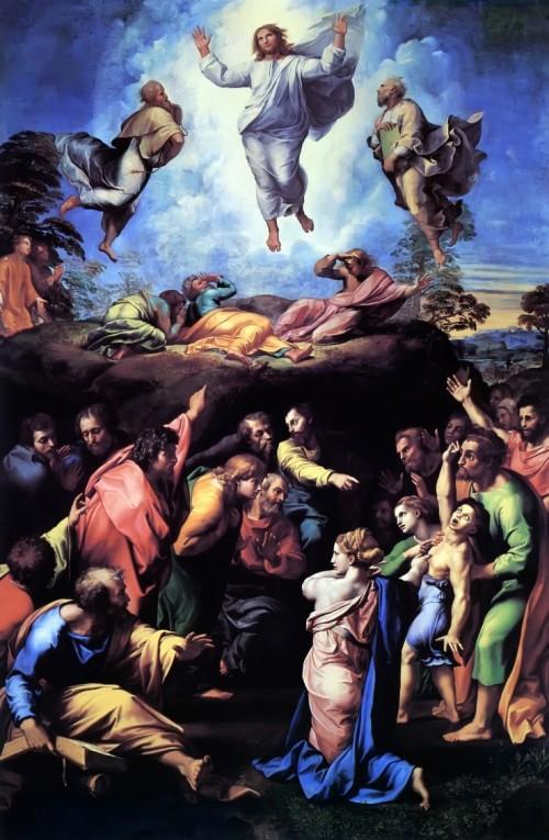 라파엘로, 〈그리스도의 변용(Trasfigurazione)〉(1516~1520)