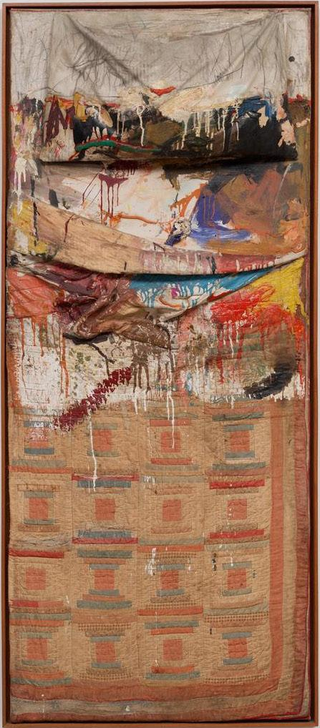 로버트 라우센버그, (1955)