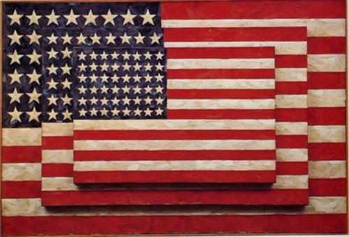 재스퍼 존스, 〈세 개의 깃발(Three Flags)〉(1958)